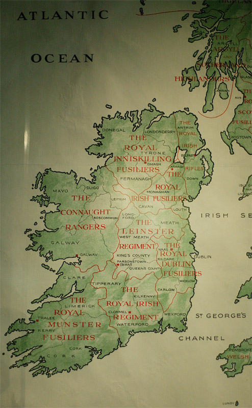 World war 1 pictures boards these are not specifically irish but this one nicely shows the breakdown of regiments in ireland world war gumiabroncs Images